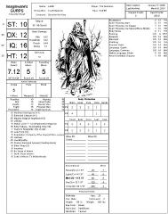 Gurps character builder: steve jackson games: 9781556340246.